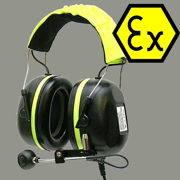 Casque anti-bruit industriel idéal pour zones Atex
