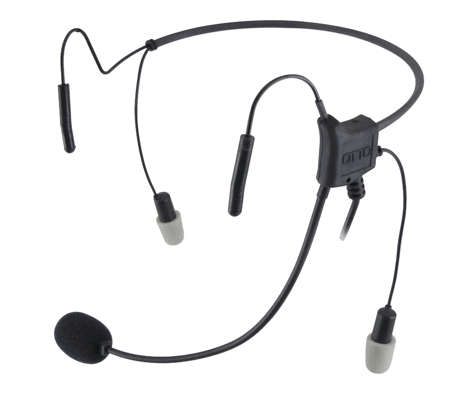 Light audio headset