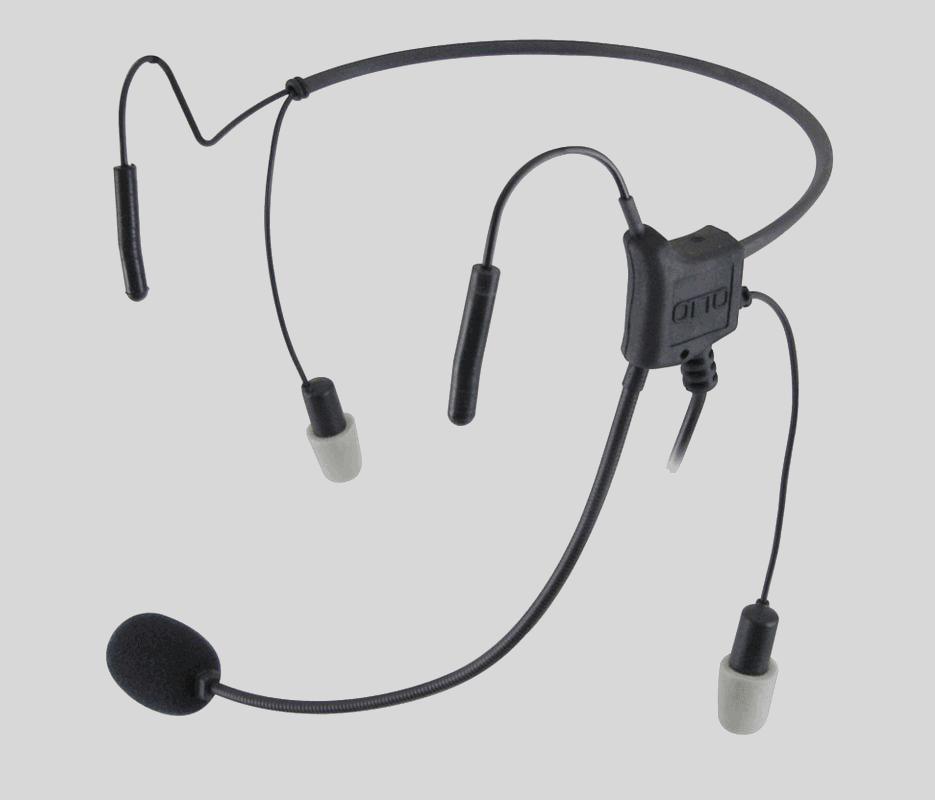 Light audio headset