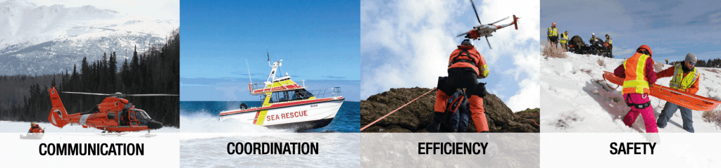 Communication and safety for Rescue