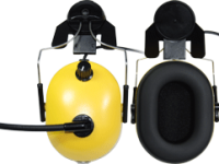 Noise cancelling audio headset for helmet