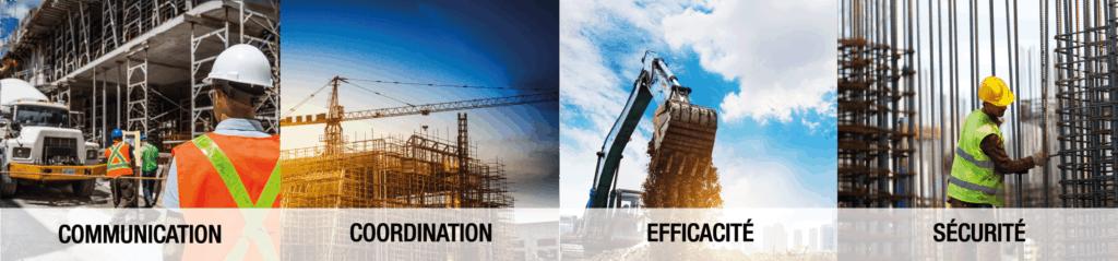 Solution de communication pour la construction
